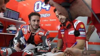 """MotoGP: Dovizioso: """"La GP18 un capolavoro? Lorenzo esagera"""""""