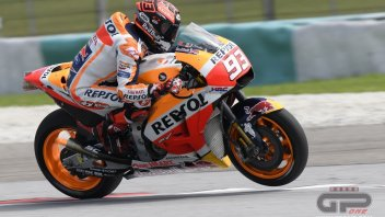 MotoGP: Sepang: if they had raced, Marquez would have won