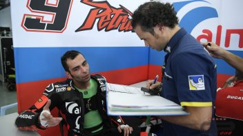 MotoGP: Petrucci: with the GP18 Lorenzo turns as if it were a Yamaha