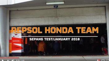 MotoGP: Marquez e Pedrosa nuovamente in pista a Sepang