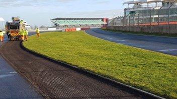 MotoGP: Silverstone: al via i lavori di riasfaltatura della pista