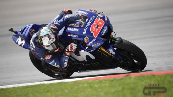 MotoGP: Vinales: la nuova M1 si adatta meglio alle Michelin