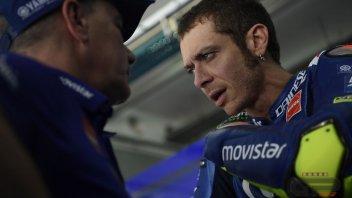 MotoGP: Rossi: oggi più in difficoltà e non sappiamo perché