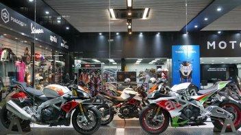 News Prodotto: Piaggio: ad Hong Kong inaugurato il Motoplex numero 300