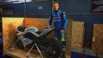 SBK: La E-Superbike in pista con Guintoli