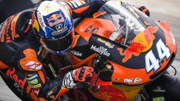 Moto2: FP1: Oliveira al top in Malesia, Morbidelli 2°