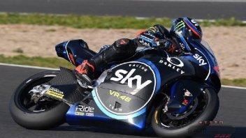 Moto2: Test Jerez: Bagnaia piega Marquez, 3° Baldassarri