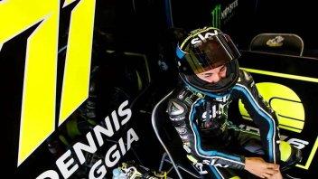 """Moto3: Foggia: """"Rossi riferimento, ma seguo anche lo stile di Lorenzo"""""""