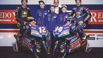 Moto3: Il Team Prüstel riparte da Bezzecchi e KTM