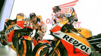 MotoGP: Honda: Marquez and Pedrosa unveil the new livery