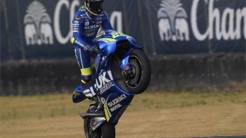 MotoGP: Un giro a 360° sulla Suzuki di Iannone