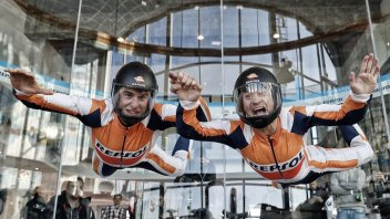 MotoGP: Marquez and Pedrosa take flight