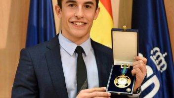 MotoGP: Medaglia d'oro al merito sportivo per Marc Marquez