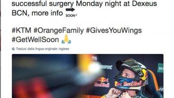 MotoGP: Pol Espargarò operato: salta i test in Tailandia