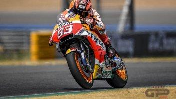 MotoGP: Test: doppietta Honda a Buriram con Marquez e Pedrosa