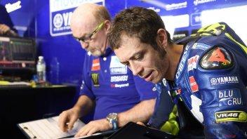 """MotoGP: Rossi: """"L'elettronica? Al momento non c'è una soluzione"""""""