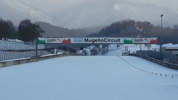 News: Il Mugello si trasforma in una pista... da sci