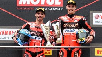 "SBK: Melandri beats the wind and Kawasaki: ""Impressive victory"""