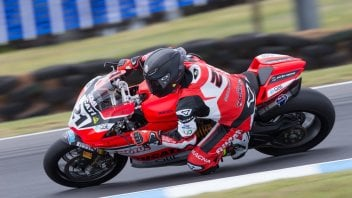 SBK: Bayliss, 48 anni e non sentirli: 3° in qualifica a Phillip Island