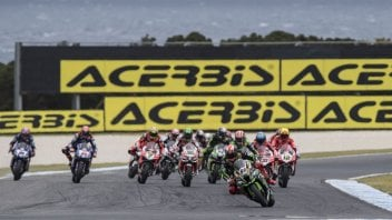SBK: Tyres in crisis, Race 2 with compulsory flag-to-flag