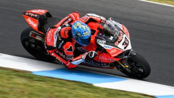 SBK: Melandri and Davies agree: steps forward respect to the test