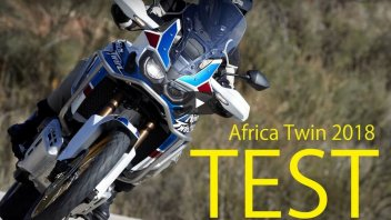 Test: VIDEO TEST Honda Africa Twin & 'Adventure Sports' 2018