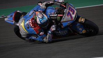Moto2: Pole stellare di Alex Marquez, in prima fila Baldassarri e Bagnaia