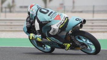 Moto3: Losail WUP: Dalla Porta comanda, Di Giannantonio 2°