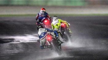 MotoGP: Gara con pioggia in Qatar: decisione rinviata