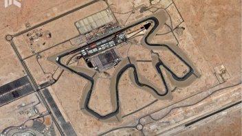 MotoGP: Il circuito di Losail visto dal satellite