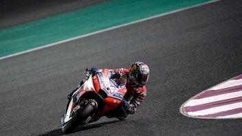 MotoGP: FP2: Notte Rossa in Qatar: Dovizioso davanti a Petrucci
