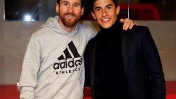 MotoGP: Messi-Marquez: serata di stelle al Camp Nou
