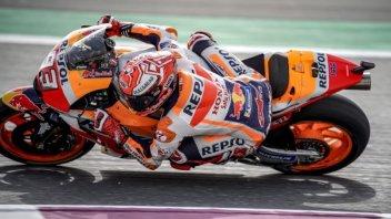 MotoGP: WUP: Marquez brucia le Ducati di Dovizioso e Petrucci