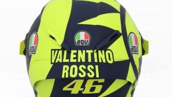 MotoGP: Rossi: è un casco anni '70, meno è meglio
