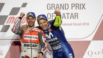 MotoGP: Dovizioso: Io favorito per il Mondiale? Detto da Rossi è tanta roba