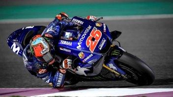 MotoGP: Vinales: col vecchio telaio riesco ad essere più veloce