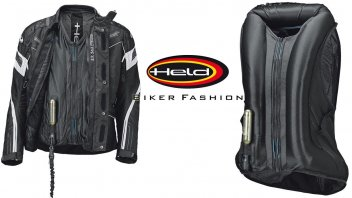 News Prodotto: Held e APS (Air Protect System): l'air bag per tutti, il Clip-In Air Vest