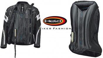 Moto - News: Held e APS (Air Protect System): l'air bag per tutti, il Clip-In Air Vest