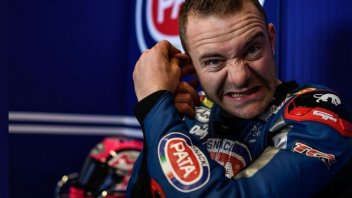 SBK: A scare for Mahias: frightening accident, I'm lucky