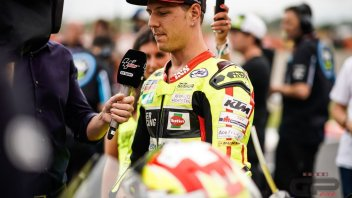 Moto2: Fractured pelvis for Aegerter, he won't race at Jerez