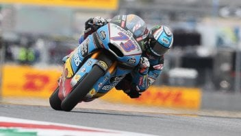 Moto2: Alex Marquez soffia la pole a Sam Lowes, 3° Pasini