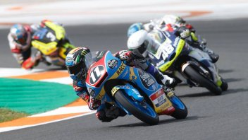 Moto3: CEV: Garcia vince in solitaria, 7° Rossi