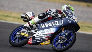 Moto3: QP: doppietta italiana in Argentina, 1° Arbolino, 2° Bezzecchi