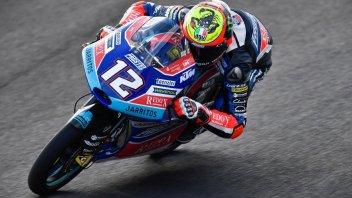 Moto3: FP1: Bezzecchi mette tutti in riga a Termas de Rio Hondo