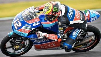 Moto3: Bezzecchi da favola in Argentina, 3° Di Giannantonio