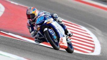 Moto3: FP2: è di Martin il venerdì al COTA di Austin