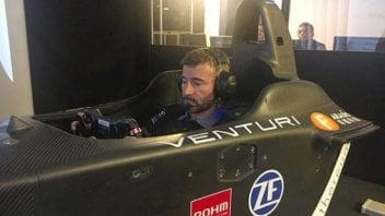 MotoE: Formula E: Max Biaggi to open the track at Rome