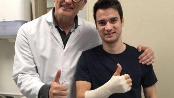 MotoGP: Pedrosa: sono già concentrato sul recupero