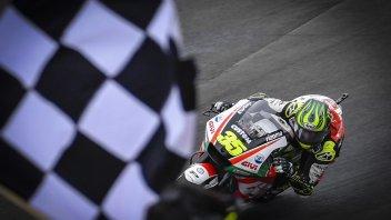 MotoGP: Crutchlow da sogno, Marquez da incubo