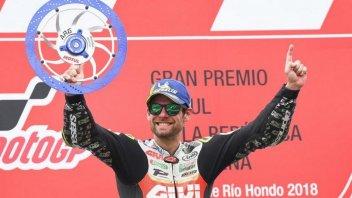 MotoGP: Crutchlow: mi sono meritato questa vittoria